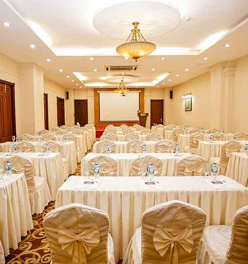 For all types of meetings, business conferences and special events